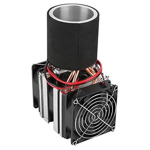 Refrigeración de semiconductores de 12 V, módulo de enfriador Peltier único, enfriador termoeléctrico de enfriamiento de doble ventilador para mini refrigerador acondicionado