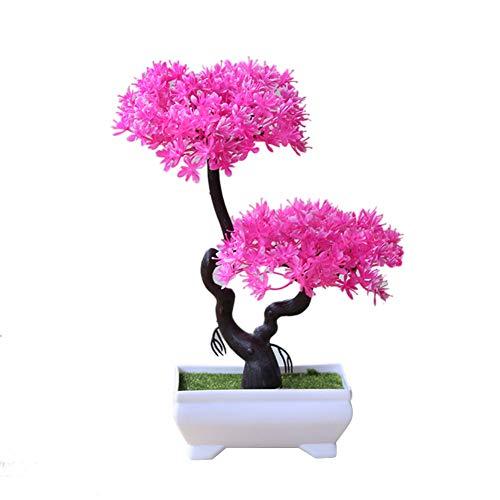 yanbirdfx Artificial Plant Tree Bonsai Fake Potted Ornament Home Hotel Garden Decor Gift 3#