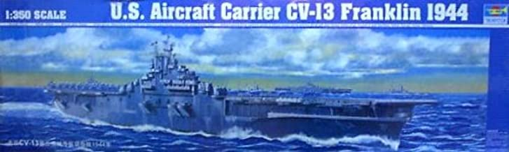 Trumpeter 1/350 USS Franklin CV13 Aircraft Carrier 1944 Model Kit