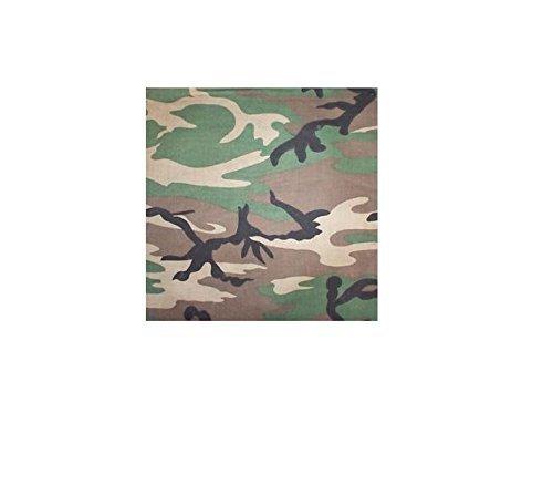 Camouflage Camo Hoofd Sjaal Bandana 22 x 22 inches Camouflage