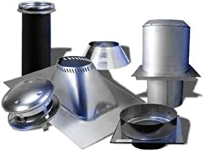 Selkirk Metalbestos 6T-FCK Stainless Steel Flat Ceiling Support Kit, 6-Inch