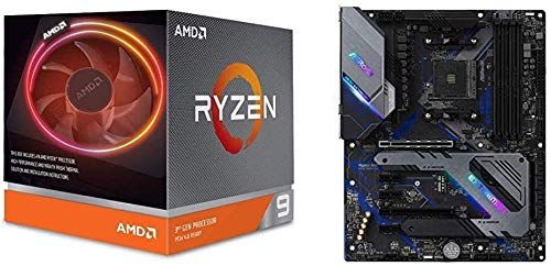 AMD Ryzen 9 3900X with Wraith Prism cooler 3.8GHz 12コア / 24スレッド【国内正規代理店品】 100-100000...
