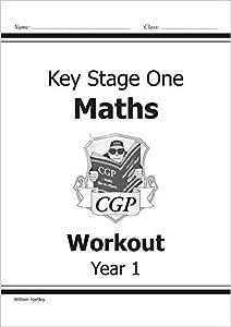 KS1 Maths Workout - Year 1 (CGP KS1 Maths) from Coordination Group Publications Ltd (CGP)