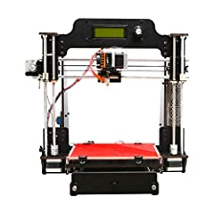 1. Open Filament System: ABS/PLA/Flexible PLA 2. Reliable print quality: High layer resolution and low tolerances provide smooth surface finish and stable object texture. Easy to assemble and adjust: Simplified and custom-fit parts, time-saving and r...