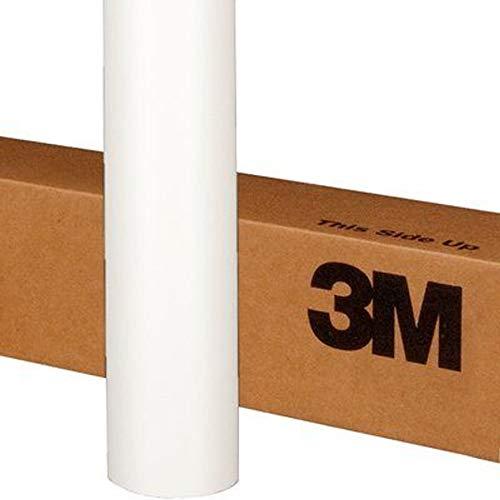3M 1080 M10 MATTE WHITE 5ft x 5ft (25 Sq/ft) Car Wrap Vinyl Film