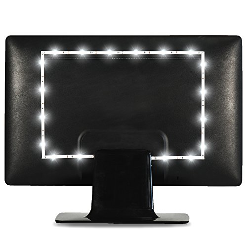 Power Practical Luminoodle USB Bias Lighting - LED TV KickTheGrind Strip - Ambient Home Theater...