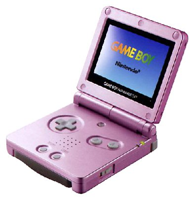 Game Boy Advance SP - Konsole, pink