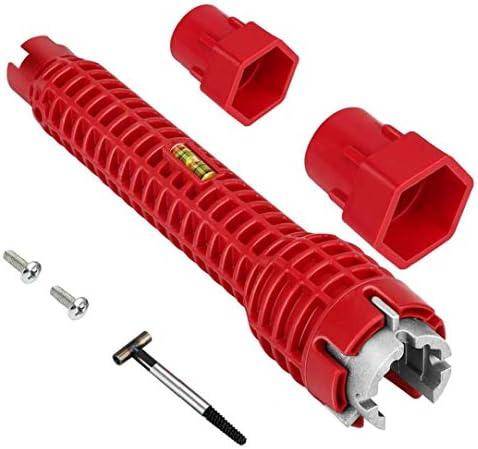 Kraan Sink Installer Tool Loodgieters Socket Wrench Water Pijp Tap Spanner voor Badkamer Keuken Industrile Gereedschap