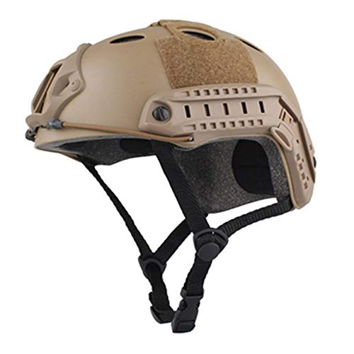 ZUICHU Skihelm Army Fan Protection Live-Action-CS uitrusting Outdoor Sports 54 * 62cm paardrijhelm