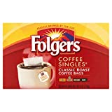 PACK OF 4 - Folgers Coffee Singles Classic Roast Coffee Bags, 38 count, 6 oz