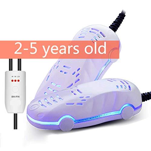 CANDYANA Kleine schoenendroger verwarming deodorizer verwarmer sterilisator 3 tijd timer geschikt voor reizen, winter, regentijd