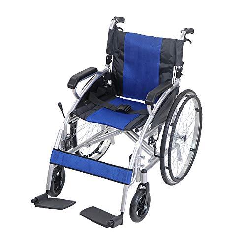 選べるカラー 車椅子 アルミ合金製 約15kg ハイグレードモデル TAISコード取得済 背折れ 軽量 折り畳み 自走介助兼用 介助ブレーキ ノーパンクタイヤ 自走用車椅子 折りたたみ コンパクト 背折れ式 介助用 自走式 自走 介助 車椅子 車イス 車い