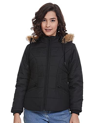 Qube By Fort Collins Women's Cape Jacket (170762_Black_L)