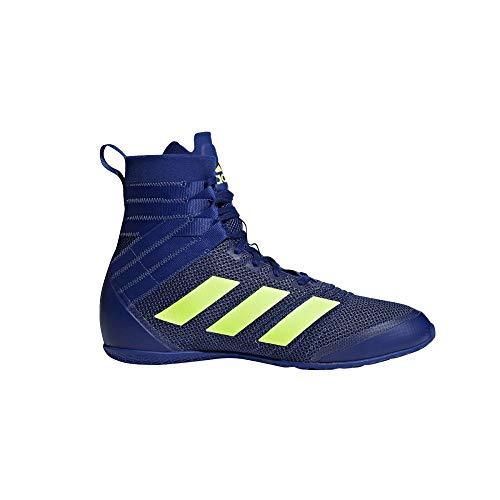 addias Hombre Speedex 18 Zapatos de Boxeo Azul, 37 1/3