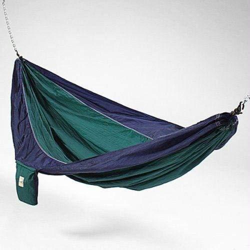 Hammaka Parachute Silk Hammock Blue/Green