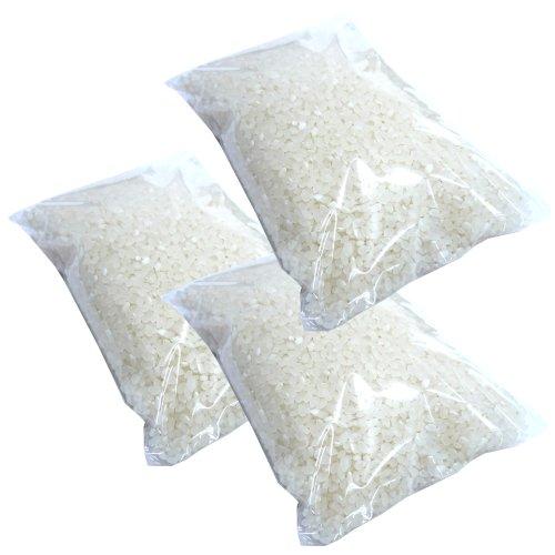 【無洗米】 田村清一さんの 新潟 無農薬米 コシヒカリ(アイガモ農法) 3kg(1kg×3袋)