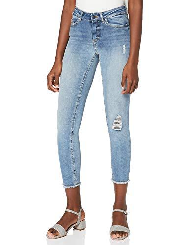 Only 15151895 Jean Skinny, Bleu (Light Blue Denim), 44 /L32 (Taille Fabricant: XX-Large) Femme
