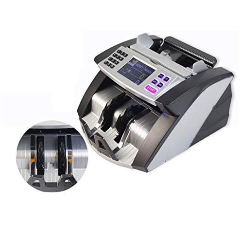 BYCDD Rilevatore di Banconote False, Verificatore banonote False Display a LED di Facile Lettura Money Detector UV/MG/IR Verificatore banonote False,A_30X26X20CM