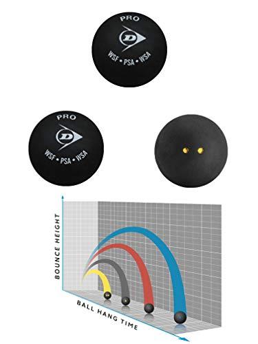 Sportsends Dunlop Squash Balls - Alle Arten mit Variety Pack (3er Pack) (Pro)