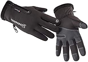 Winter Warm Gloves,Touchscreen Cold Weather Driving Gloves Windproof Anti-Slip Sports Gloves for Cycling Running Skiing Hiking Climbing,Men & Women