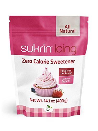 Sukrin Melis Zuckerersatz, Die Natürliche Alternative zu Puderzucker Ohne Kalorien, 1er Pack (1 x 400 g)