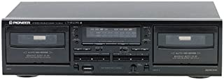 Pioneer CT-W205R Dual-Well Auto-Reverse Cassette Deck (Dolby B/C) (Discontinued by Manufacturer)