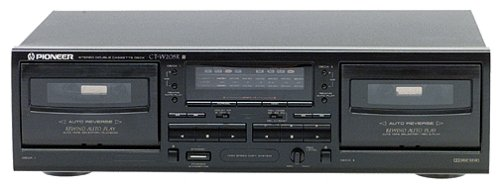 Pioneer CT-W205R Dual-Well Auto-Reverse Cassette Deck (Dolby B C) (Discontinued by Manufacturer)