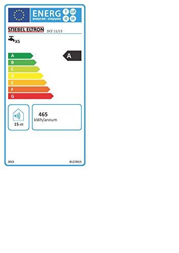 STIEBEL ELTRON elektronisch geregelter Durchlauferhitzer DCE 11/13, wählbare Leistung 11 oder 13,5 kW, Küchenspüle, 230770 - 5