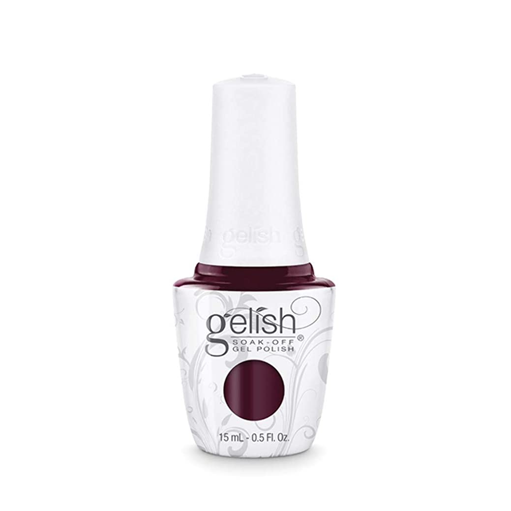 タフジョブ砦Harmony Gelish Gel Polish - Black Cherry Berry - 0.5oz / 15ml