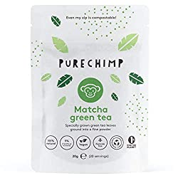 High In Antioxidants - Matcha grown without the use of pesticides Delicate Flavoured Matcha Green Tea - Regular/Mint Steady Energy Levels - For up to 6 hours, no more peaks and crashes Clear your head - Matcha has positive effects on mood, memory and...