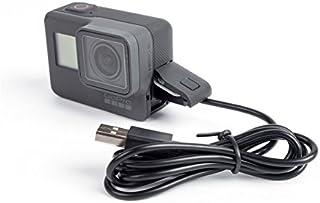 Cargador de reemplazo y cable de sincronización USB tipo C para GoPro Hero 5 y Hero 5 Black Sesión Hero 5 marca Dragon Trading