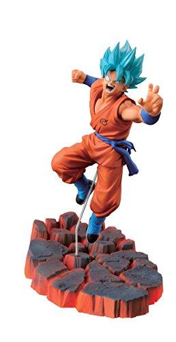 Banpresto Dragon Ball Z 3.9-Inch Super Saiyan God SS Son Goku Figure, Volume 1 by...