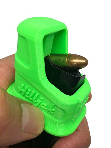 Hilljak Speed Loader Compatible with Sig Sauer P365, Springfield Hellcat Double-Stack 9mm - Neon Green
