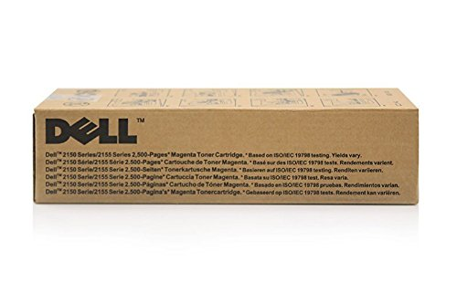 Toner Cartridge Compatible with Dell 2150CN Dell 2Y3CM 8WNV559211666, 59311033, 59311666–Premium Ink cartridge Magenta–2.500Pages