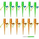 Ovtai Irrigazione automatica per piante in vaso, 12 pezzi, sistema di irrigazione regolabile