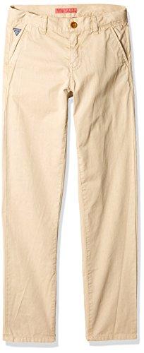 Guess Jungen Chino Core Unterhose, Indisches Braun, 6X