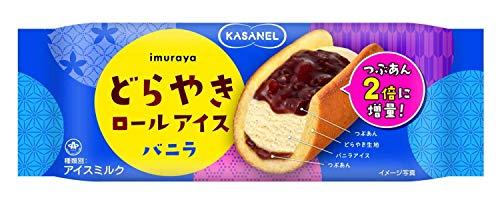 KASANEL どらやきロールアイス バニラ 24個