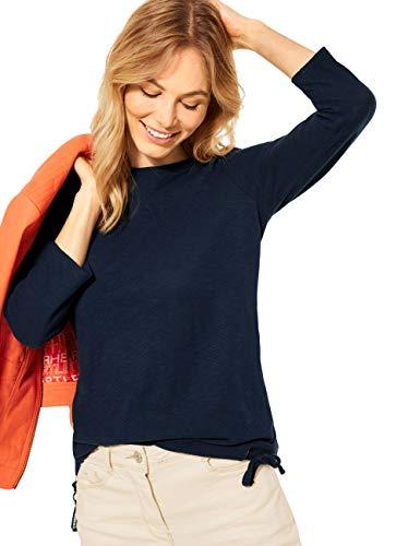 Cecil Damen 315928 T-Shirt, deep Blue, M