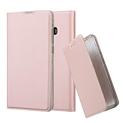 Cadorabo Funda Libro para Xiaomi Mi Mix 2 en Classy Oro Rosa - Cubierta Proteccíon con Cierre Magnético, Tarjetero y Función de Suporte - Etui Case Cover Carcasa