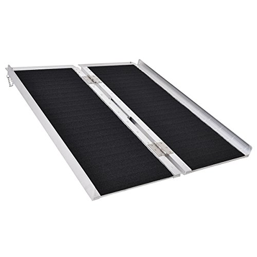 Goplus multi-Fold 3' Non-skid wheelchair ramp