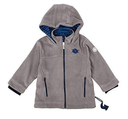 Sigikid Jungen Fleece, Mini Jacke, Grau (Grau (Titanium 2) 2), 122