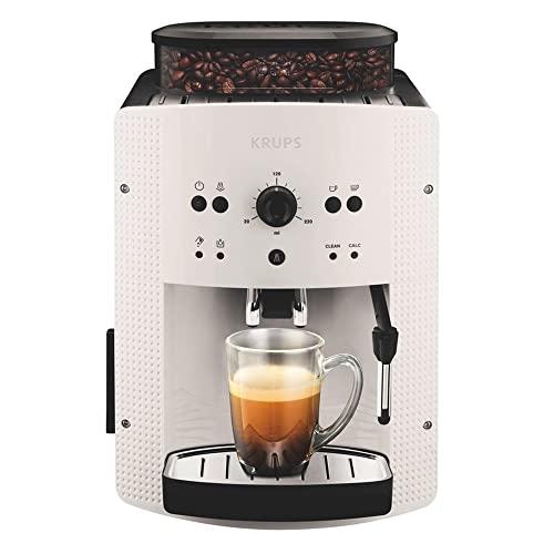 Krups EA810570 Cafetera automática 15 bares de presión, 1450 V, 1.6 L, acero inoxidable