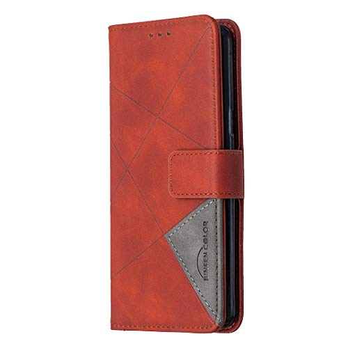 Hülle für Galaxy S9 Hülle Handyhülle [Standfunktion] [Kartenfach] [Magnetverschluss] Tasche Etui Schutzhülle lederhülle klapphülle für Samsung Galaxy S9/G960F - JEBF040242 Braun