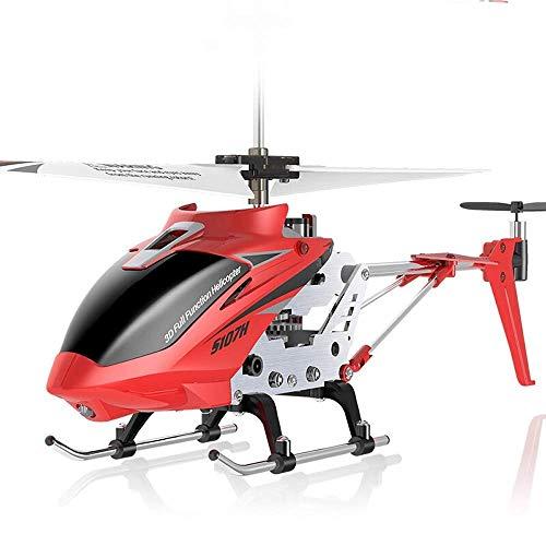 Aleación resistente a la aleación Control remoto Avión de aviones Cargador eléctrico Modelo eléctrico 3.5 CH Gyro incorporado Luces LED Drone Avión for niños Adolescentes Regalos Regalos Crash Al Aire