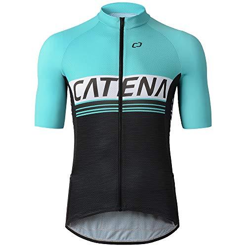 CATENA Maillot de Ciclismo Hombre Camiseta Manga Corta Jersey Ropa para Bicicleta...