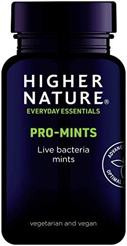 Higher Nature ProbioMints Pack of 60 (Packaging May Vary)