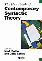 The Handbook of Contemporary Syntactic Theory (Blackwell Handbooks in Linguistics)