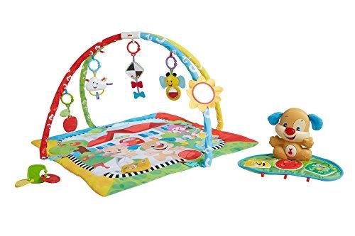Mattel Fisher-Price FBD45 Lernspaß Hündchens Spieldecke, mehrfarbig