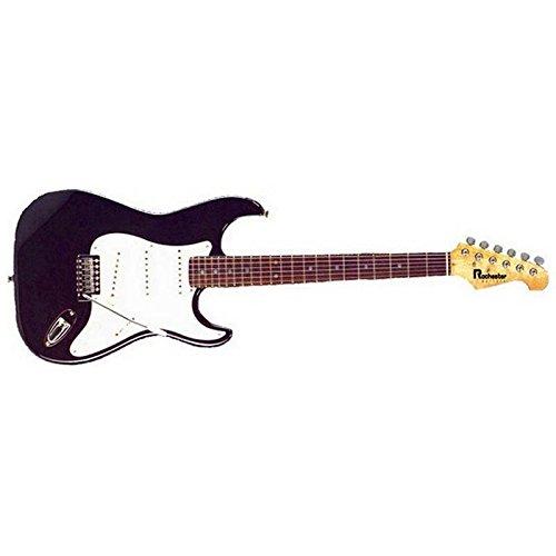 Rochester: Guitarra eléctrica st 30 bk