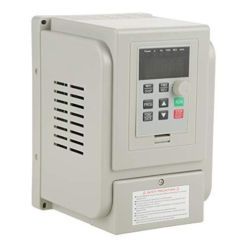 Azionamento a frequenza variabile, serie VFD monofase Inverter VFD Azionamento a frequenza variabile professionale per mandrino Controllo motore a corrente alternata (220 V 1.5KW)